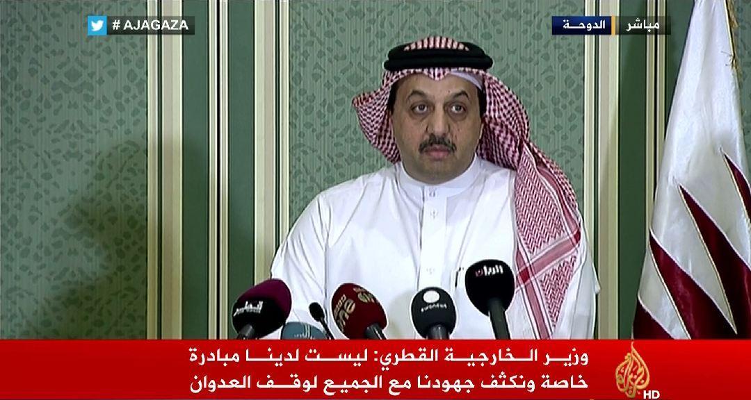 الآن على #الجزيرة | مؤتمر صحفي للأمين العام للأمم المتحدة ووزير الخارجية القطري حول العدوان الإسرائيلي على #غزة http://t.co/JVZBhXf1I3