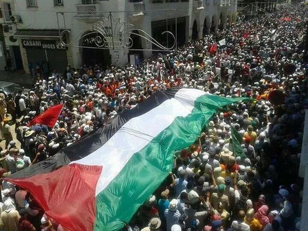 @N_BinGhaith  مسيرة الشعب المغربي اليوم بالعاصمة الرباط http://t.co/DEeCWwKgcv