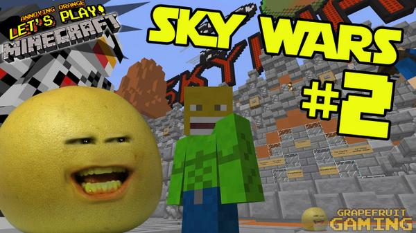 Minecraft Skywars #2 is here! You're weclome, Internet!   http://t.co/fyRtYPyjZd http://t.co/07QwBjTVgQ