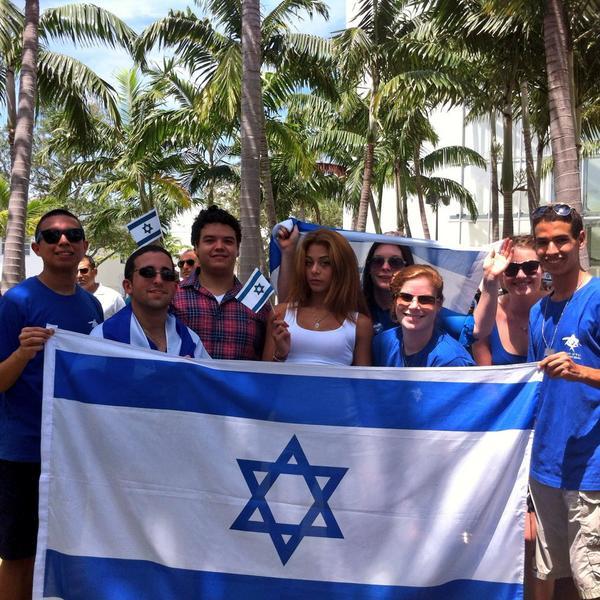 MIAMI SUPPORTS #ISRAEL!             AM ISRAEL CHAI!! http://t.co/iyr804zNIT