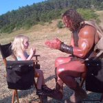 When a 2yr old asks HERCULES to play patty cake on set.. well.. he plays patty cake. #HERCULESMovie http://t.co/vCHPbSi70G