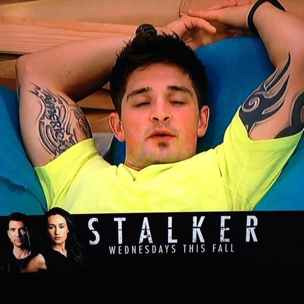 CBS got jokes! #CalebTheStalker #BB16 http://t.co/6CUSsPSq4z