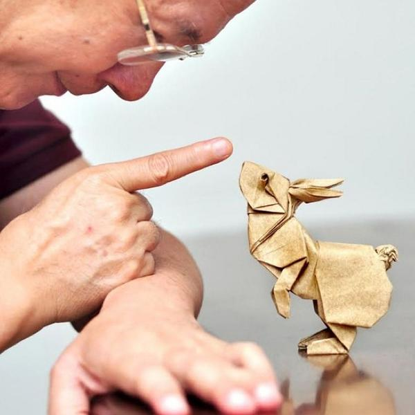 Origami Art - Ronald Koh http://t.co/cdWaRPbkM9