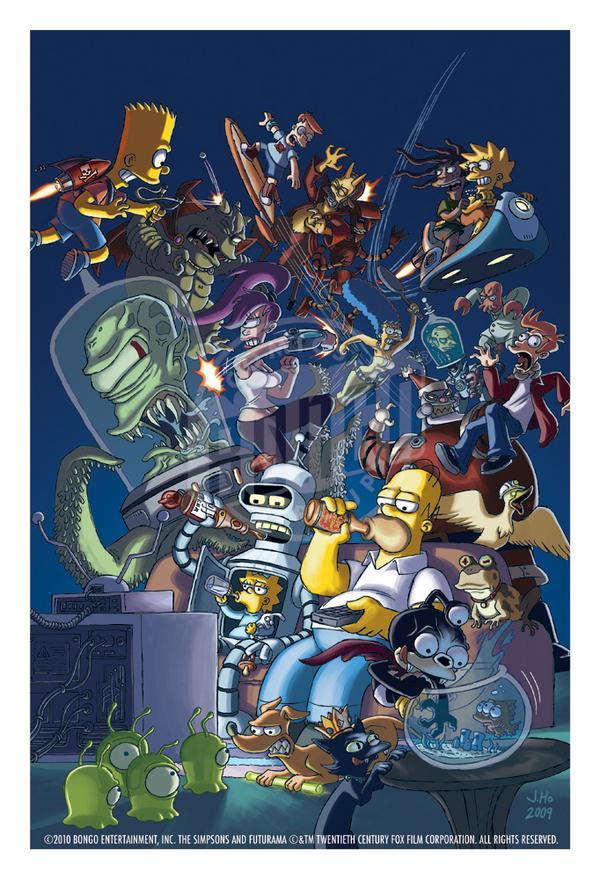 "BTW, The #Futurama/#Simpsons crossover ep. ""Simpsorama"" will air on Nov. 9 (via @EW http://t.co/nYbFvzcDKU ) http://t.co/nuRqNEm8ZA"