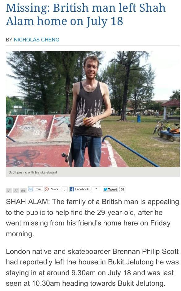 Fellow skateboarder Brennan is missing! Last seen with his skateboard. http://t.co/DYFK1PHRTb http://t.co/uHRHXJxcXp http://t.co/1ybLCKDikU