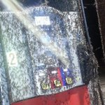Would you use this gas pump covered in #Mayflies in #Trempealeau? VIDEO, pix of #Mayfly hatch: http://t.co/d0LekuYSNj http://t.co/tmGdkFVVtb