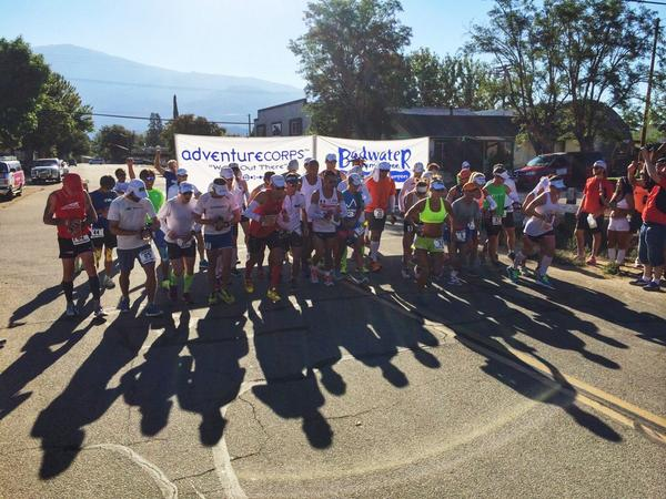 They're off! Only 135 miles to go. #badwater135 http://t.co/HFmPAYISzs