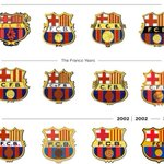 RT @barcastuff: Infographic: Barcelona badges since 1910 http://t.co/U0kivWZVtB [via @jeftagracia1]