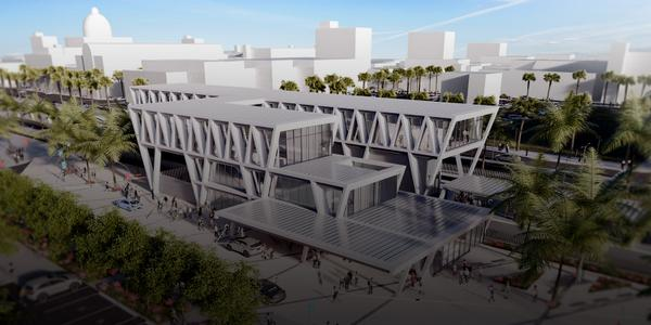 All Aboard Florida's West Palm Beach station revealed - http://t.co/TmBSx3zw6f http://t.co/tpSD9tvB8z