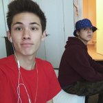 Haha @TheMattEspinosa is straight mean muggin ???? http://t.co/BqmxgG9QYb