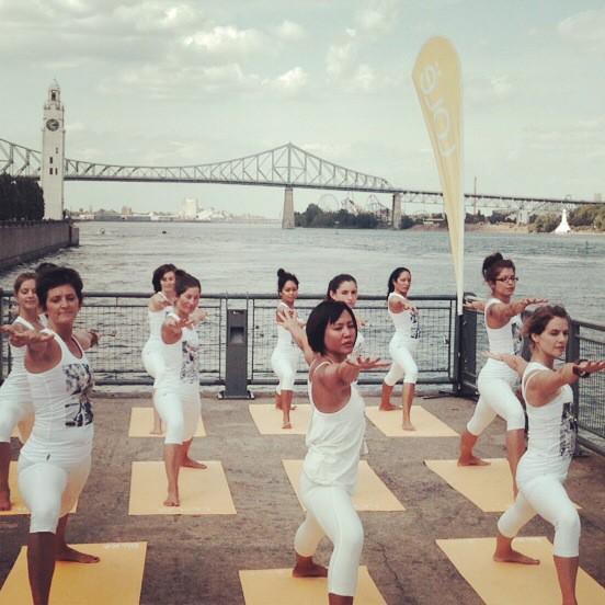 Quelle vue extraordinaire! C'est ici que se tiendra la #lolewhite le 9 août prochain! #yoga @vieuxportmtl http://t.co/o5SSwxrejL