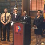 Denver Mayor announces change in leadership. Denver Sheriff Gary Wilson stepping down. http://t.co/ScSCIOFlAQ