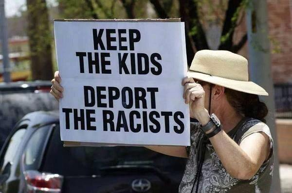"Agreed RT @Scottsville4 Amen! - ""@jeromebristow76: Keep the kids & Deport the Racists! http://t.co/tDnYVh2WtO #BorderCrisis  #UniteBlue"