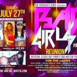 """Bad Girls Part 1"" For The Ladies Only Sun. July 27 @ The State Fair Lounge #Detroit #Pride #RbProductions http://t.co/m3khHYFH9E"