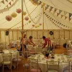 A little peep inside as we set up the beautiful vintage marquee... http://t.co/9Kx2Kqjhk8