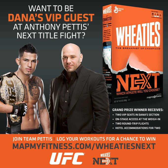 RT @ufc: RT if you would like to be @DanaWhite's VIP Guest to @ShowtimePettis' title fight! CONTEST: http://t.co/IVFRVlclYM http://t.co/HO9…