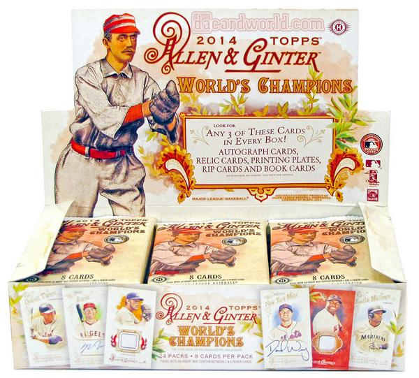 WIN A BOX OF 2014 #GINTER  Simply RT for a chance to win a hobby box of 2014 #Ginter! Good luck. http://t.co/DQETJFNCxR