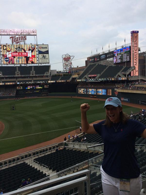 The journey started April 2001. Ends tonight! All 30 ballparks!! #touchemall @MLB  @LPGA http://t.co/AoOp4RQw03