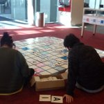 Come and play scrabble in Te Reo on level 4 of the student centre #waitalk #MaoriLanguageWeek http://t.co/pUZAW8JHY1