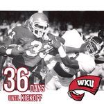 #WKU football is just 36 days away! The 1998 Hilltoppers averaged 36 points per game, a school record #BrohmSquad http://t.co/xrgTB30SH3
