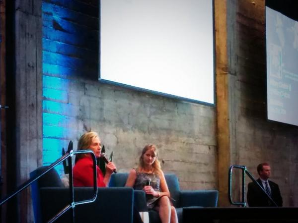 """The ultimate promise of social media is the ability to find our common humanity"" -- @HillaryClinton at the @twoffice http://t.co/ShwqJI3lab"