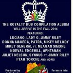 RT @Rebelle514_69: Coming out in October: Royalty Dub Compilation from @IndieRootz @BrianKotler #Montreal #Toronto #Jamaica #NewYork http://t.co/Qpt0evFxrh