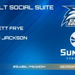 RT @SunBelt: SOCIAL SUITE: Reply to this tweet or use the hashtag #SunBeltMediaDay with your question for @GSAthletics now! http://t.co/qk6wvu6vxg
