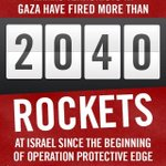 RT @OrthodoxUnion: #DidYouKnow Hamas fired>2,040 rockets at Israel in past two weeks. Thats >145 rockets a day. http://t.co/E20BgCmmpD