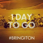 RT @Glasgow2014: Time to make tracks....One day to go until the start of #Glasgow2014!! #BringItOn - RT! http://t.co/QTTrvbyVFW