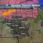 #SkyWarn13: Severe Thunderstorm Watch just EXPANDED to include Washburn, Sawyer and Price counties valid until 7AM. http://t.co/iqxq8D0gW3