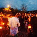 REMEMBERING GARRETT: Family, friends gather at Mandarin High to remember teen killed in crash http://t.co/MTjkZthSod http://t.co/B2aU2PiqM4