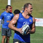 Heres Matt Scott at training today. Hopefully not too long before we see him back in the NRL #ridemcowboys http://t.co/9avrwGAByV