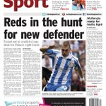 Here is YOUR TUESDAY back page.... #NFFC #Cricket #T20 #Notts #Outlaws #Crickethaslanded http://t.co/b8mNv4niqk