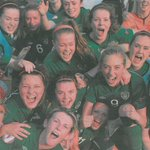 RT @Irishsportsland: The Irish Womens U19 team celebrate reaching the UEFA Euro Championship semi-final. #SPOTD via @Independent_ie http://t.co/K1ZBIX0s6R