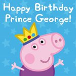 We in Pig HQ would like to say a very happy first birthday to Prince George! Have a goodun, your highness! http://t.co/BANcofFsLu