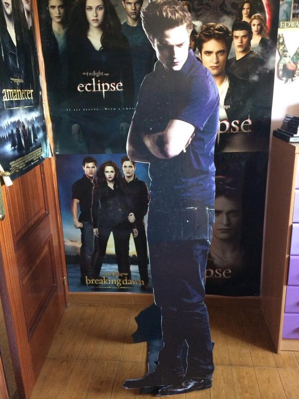 A year ago, Edward Cullen came in my room through the window for my birthday and haven't let him go since then ;)