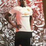 RT @OneLoveTo_MU: #Foto: Bocor.. Bocor.. Jersey Away United buat season 2014/15. Shaun the Seep jadi model ;;) http://t.co/4GaV4aU82f