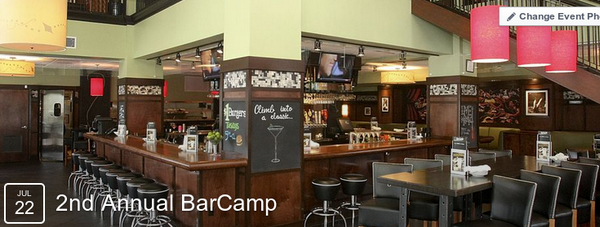 Everyone is welcome tonight at Bar Louie for the 2nd Annual BarCamp. See you there! http://t.co/hOz3skygL0 #ilovewpb http://t.co/hZ9RvhmBMO