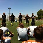 Delivering skills sessions with Manchester United Soccer Schools is always a key part of #mutour. http://t.co/WlGpw1dnZi