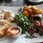 #food sampling Beirut delights in the Beirut Express Dame St #Dublin #Dublin http://t.co/yqfgQm634h