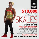 Skales will be giving out $10000 to the dance video of #ShakeBody with the highest views!! for more info http://t.co/lxaRqKuGNd
