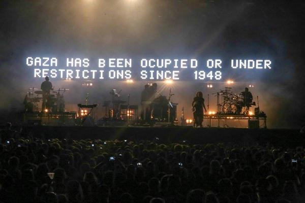 Massive Attack. #gaza #freepalestine #endthe occupation http://t.co/Im5oX6kGNg