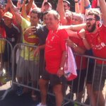 RT @LFCUSA: PHOTO: Look who has turned up at #LFC training... only the King, @kennethdalglish #LFCTour http://t.co/r6DOoPCfEa