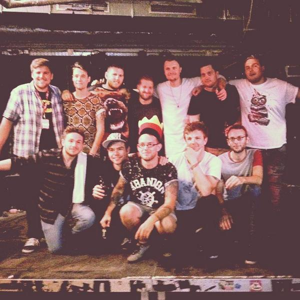Could never have wished for a better first tour in Germany. Huge thanks to the outrageously safe lads in @blitzkids! http://t.co/2RKMSPjyb3