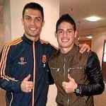 James Rodriguez is officially with Real Madrid. Cant wait to see Ronaldo and Rodriguez on the same field . http://t.co/JWrax1aCqd