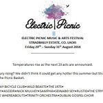 23 new acts announced for @EPfestival. http://t.co/FNo3cqWFeT