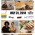 13 #FXBG Restaurants Will Compete at The FXBG #Sandwich Invitational. Buy Tix at Caroline St Visitor Center. http://t.co/IZlMqq7OSf