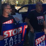RT @gaolteacher: Will you stand up for your local #TAFE? .@PhillipChadwick does http://t.co/g3NIyMGJmg