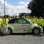 RT @ganshermer: @GoldsmithsCo sustainable energy course participants with the poo powered car! #greenenergy @UniofBath http://t.co/9G2fjLXTMc