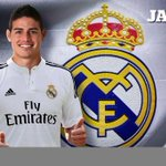 OFFICIEL ! James Rodriguez a signé un contrat de 6 ans au Real Madrid ! http://t.co/ssX0vlhZqp